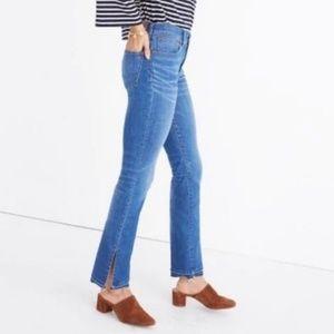 Madewell Cali Split Hem Demi Boot Jeans Size 26
